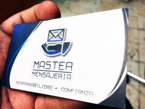 tarjetas de presentacion laminado mate