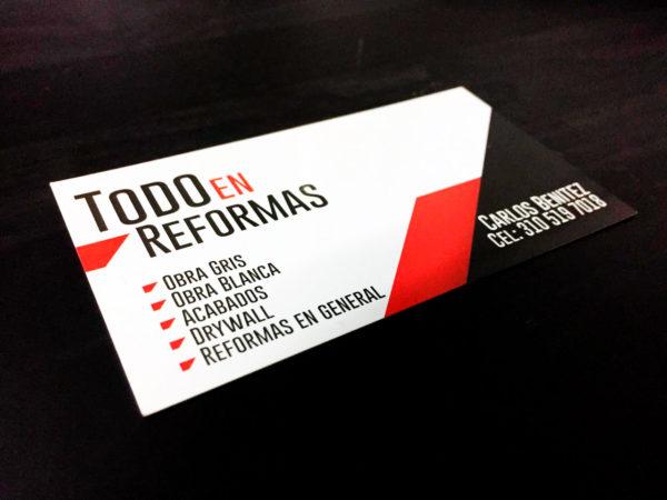 Tarjetas de Presentación Medellin
