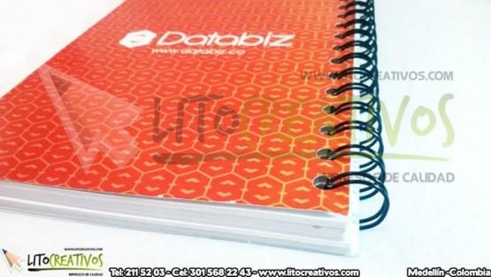Cuaderno Personalizado Databiz