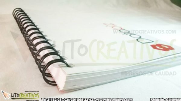 Cuaderno Personalizado Litocreativos litografia medellin 5