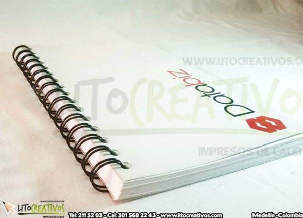Cuaderno Personalizado Litocreativos litografia medellin