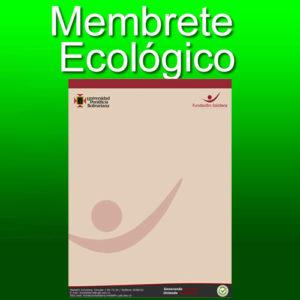 Membrete ecologico