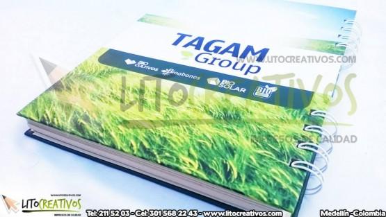 Cuaderno Personalizado TAGAM