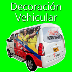 Decoracion vehicular
