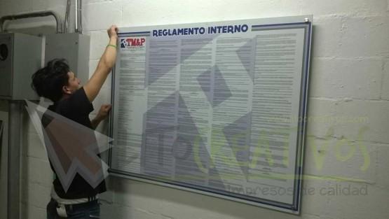 MDF laminado Reglamento Interno TM&P