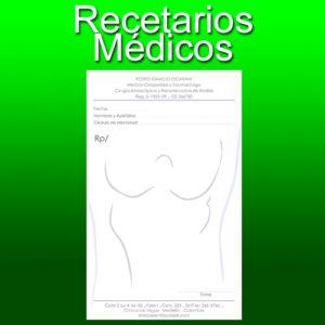 recetarios medicos