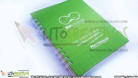 Cuaderno Ecólogico BW Studio