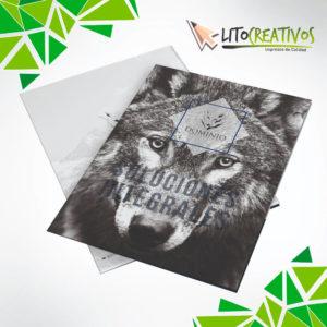 carpetas personalizadas litografia Medellin litocreativos