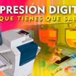 Novedades de impresión digital
