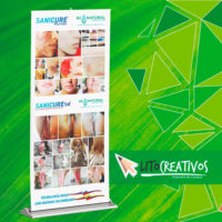 pendon roll up litografia Medellin litocreativos