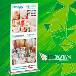 pendon roll up litografia Medellin litocreativos