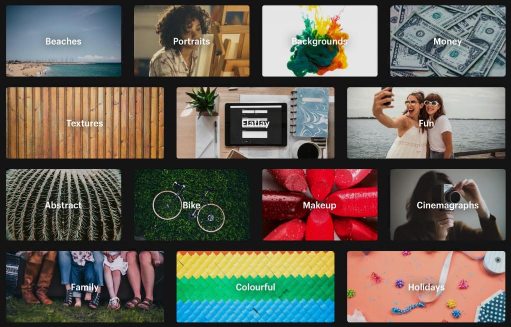 Existen cinco banco de imágenes que permiten a los aficionados incursionar en el arte del diseño gráfico.